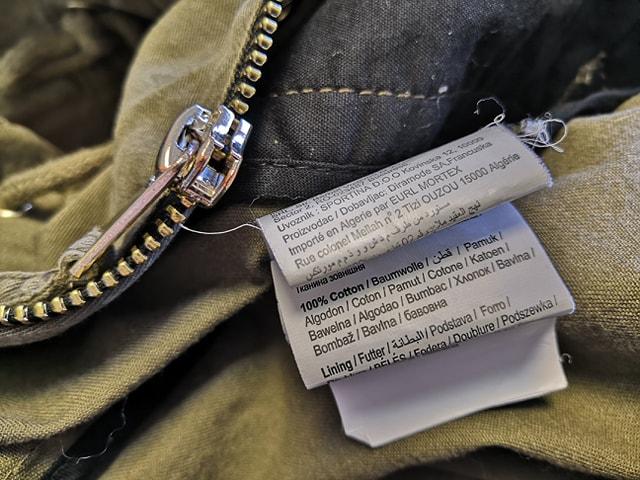 Comment décrypter l'étiquette d'un vêtement? Partie 1 : L'étiquette de Composition textile.