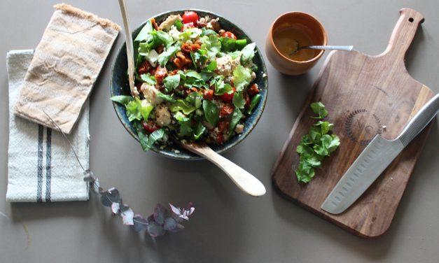 Les Recettes des Sportifs par Ambre Mota : Salade de quinoa à emporter