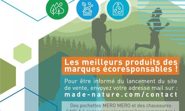 Des pochettes MERO MERO et des chaussures SAOLA à gagner pour le lancement de Made Nature !