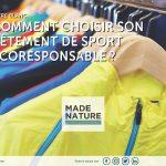 Comment choisir votre vêtement de sport  écoresponsable ? Apprenez à décryptez les infos produits grâce à ce livre blanc