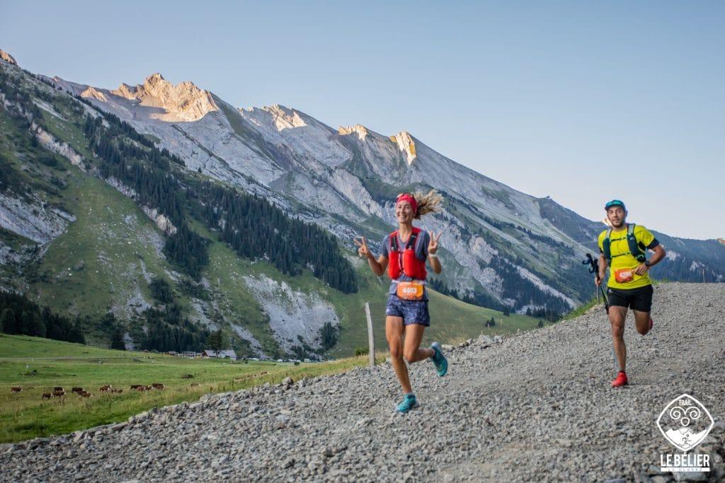 Trail running le Bélier des Aravis à la Clusaz, top 5 des événements écoresponsables